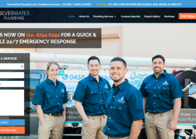 Websites For Plumbers – Silverwater Plumbing