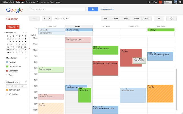 Google Calendar - How to turn your email address into a valuable company asset using Google Apps