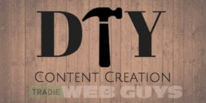 Content Creation For Tradies