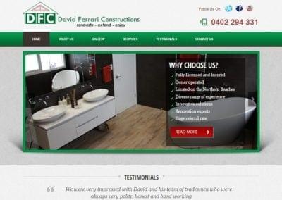 David Ferrari Constructions