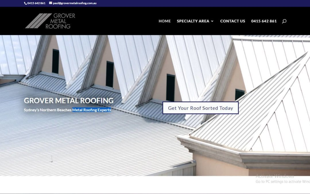 Grover Metal Roofing