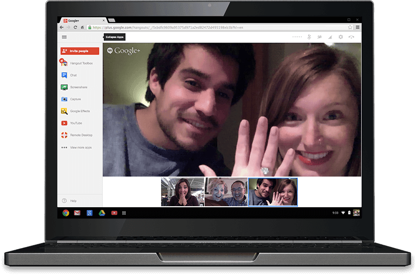 google hangouts - How to turn your email address into a valuable company asset using Google Apps