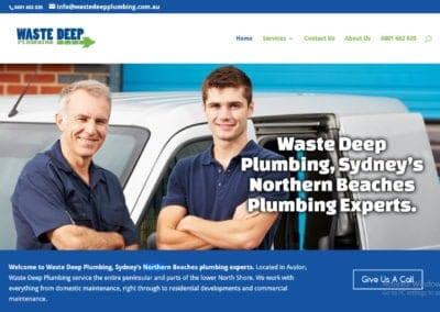 Waste Deep Plumbing