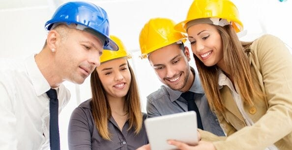 workers smile - CRM for tradies
