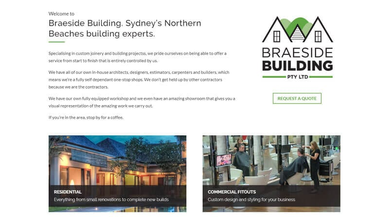 Tradie Web Guys specialise in websites for builders  Call on