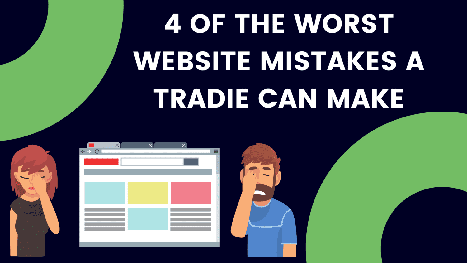 Website Mistakes Image - Blog